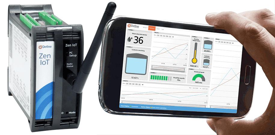 Zen IoT Smartphone Dashboard