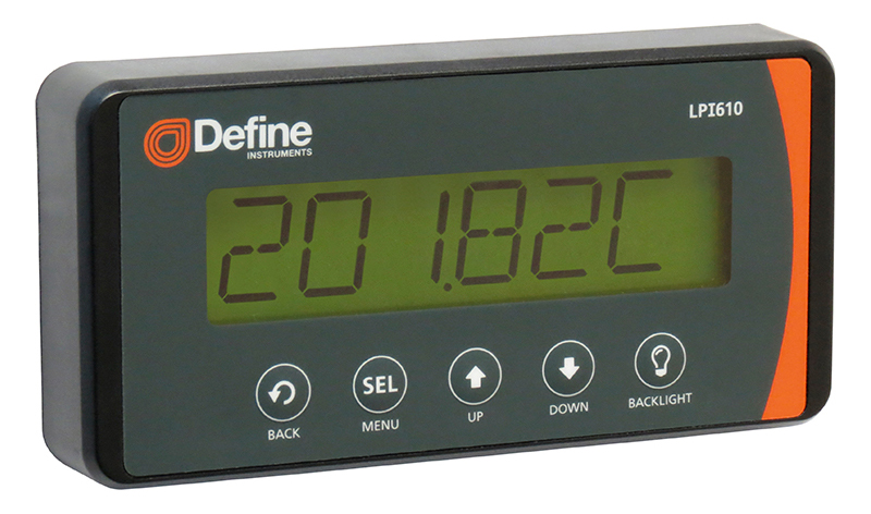 LPI610 4-20mA Loop Powered Display