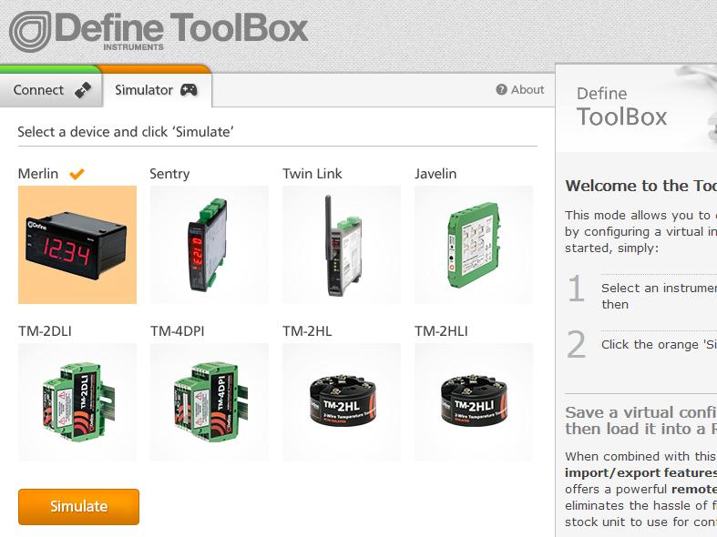 ToolBox Simulator