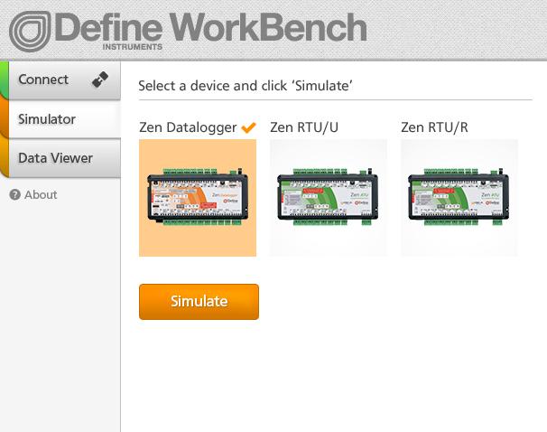 WorkBench Simulation Mode